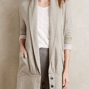 Anthropologie Draped Cocoon Cardigan